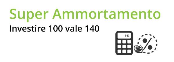 Super Ammortamento, investire 100 vale 140
